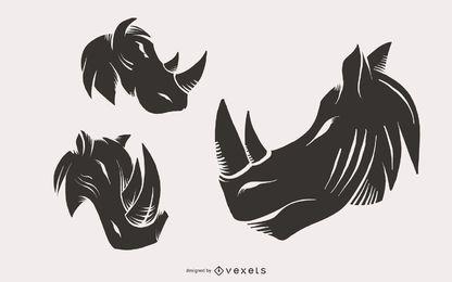 Rhino Head Abbildungen