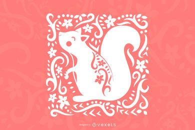Art Squirrel Design