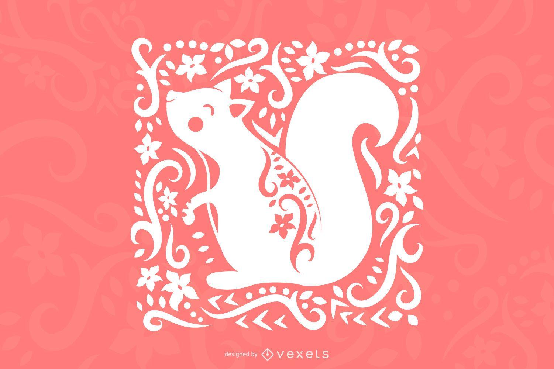 Art Squirrel Design