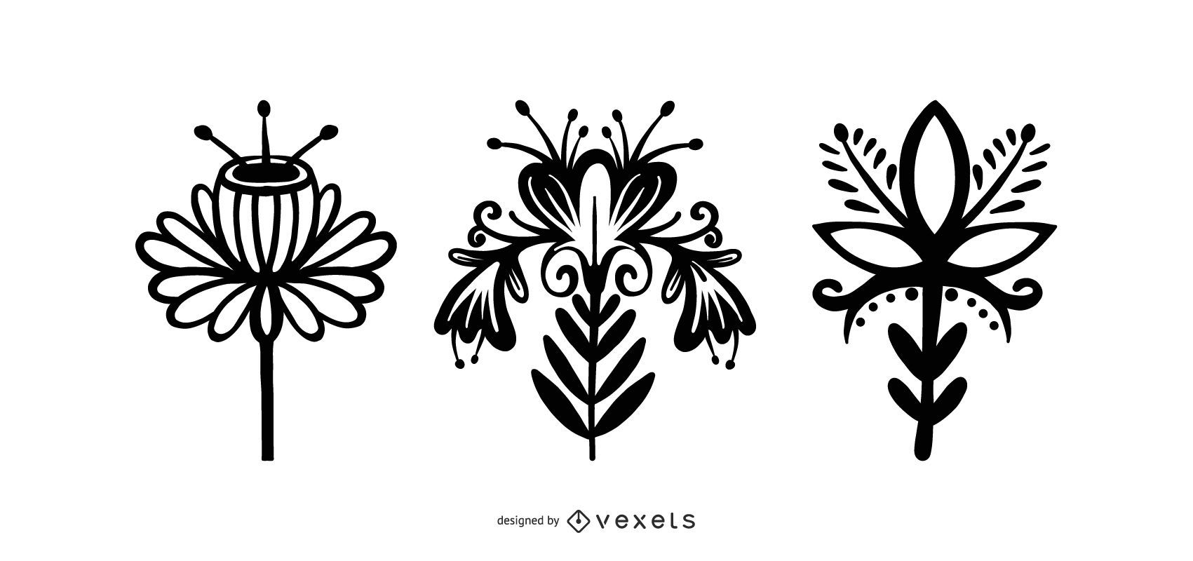 Scandinavian Style Flower Pack