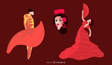 Conjunto de caracteres de la cultura española