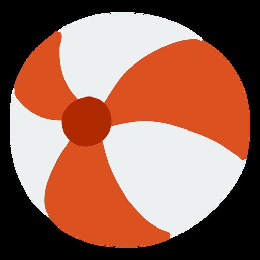 Kugelkreisstreifen flach Transparent PNG