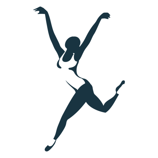 Ballerina ballet dancer tricot pointe shoe posture silhouette Transparent PNG