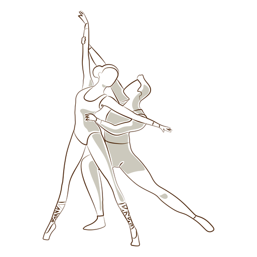 Bailarina bailarina postura sapatilha sapato vetor Transparent PNG