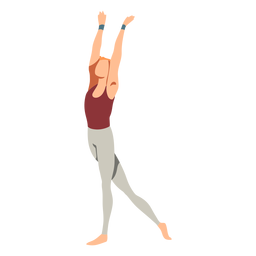Ballet dancer leggins flat