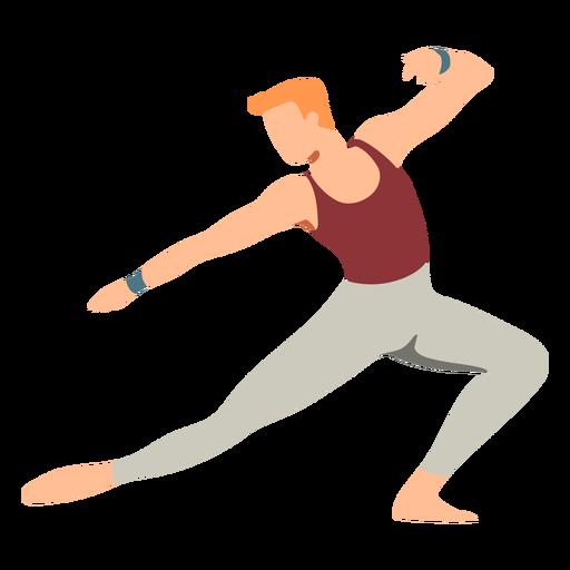 Postura plana da bailarina