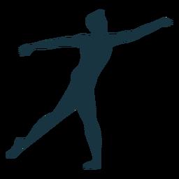 Silueta de ballet