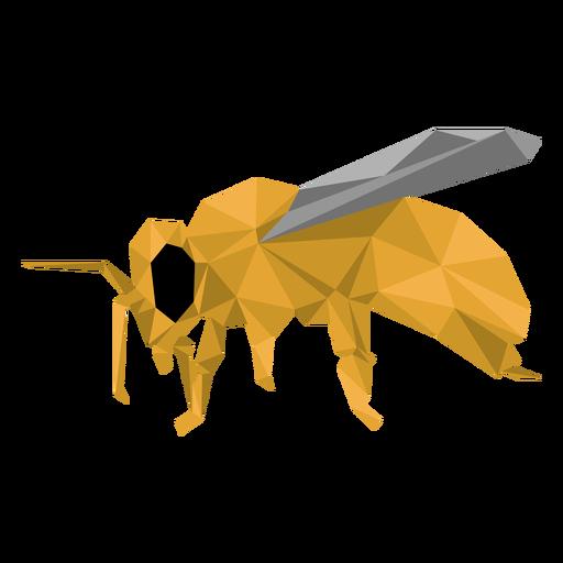 Asa de abelha perna asa baixa poli Transparent PNG