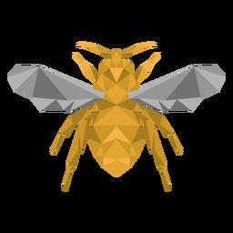 Pé de asa de abelha de abelha baixo poli