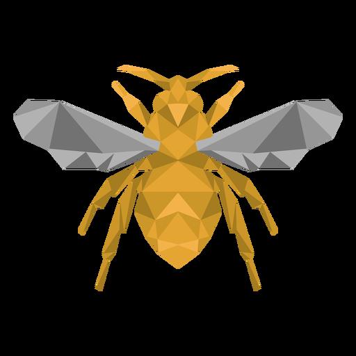 Pé de asa de abelha de abelha baixo poli Transparent PNG