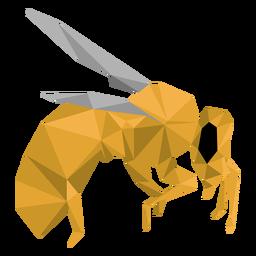 Ala de abeja pierna avispa baja poli