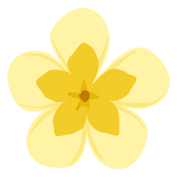 Bud Blütenblatt flach