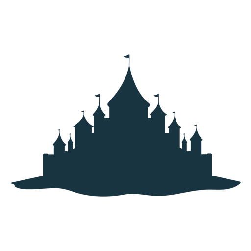 Castle palace tower gate roof dome silhouette Transparent PNG