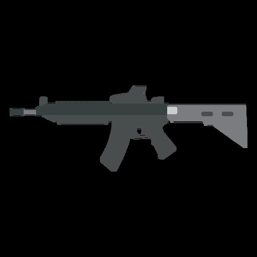 Charger barrel gun weapon flat Transparent PNG