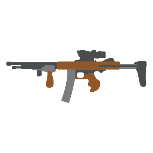 Cargador pistola barril plano Transparent PNG