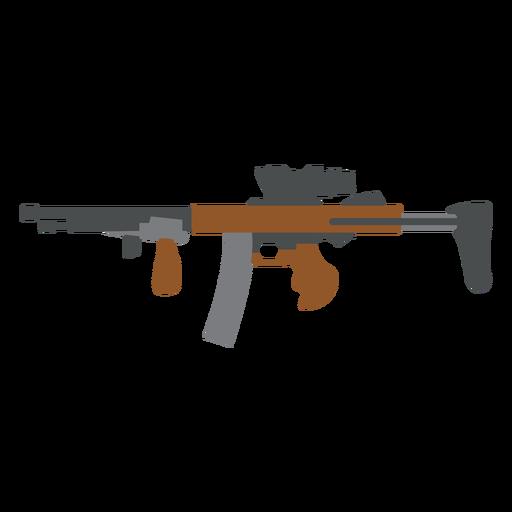 Ladegerät Pistolenlauf flach Transparent PNG