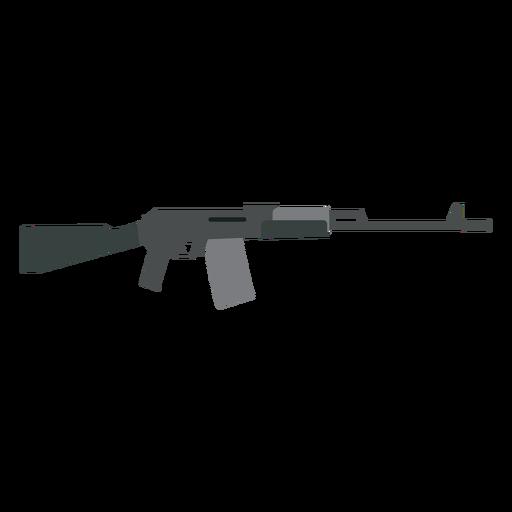 Carregador de arma butt submachine gun barril plano Transparent PNG