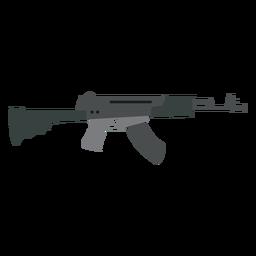 Arma de submetralhadora de arma carregador barril de bunda plana