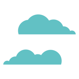 Cloud pair two flat