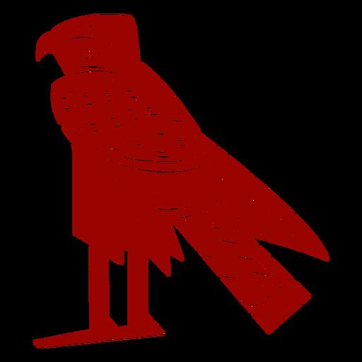 Silueta detallada de águila pico ala garra patrón Transparent PNG