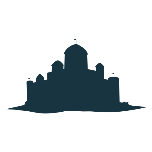 Fortress citadel stronghold tower gate roof dome silhouette Transparent PNG