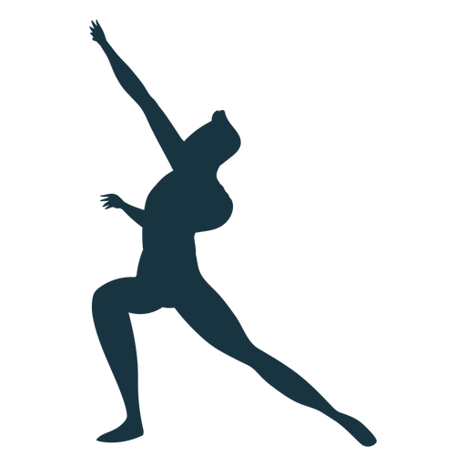 Grace posture ballet dancer silhouette