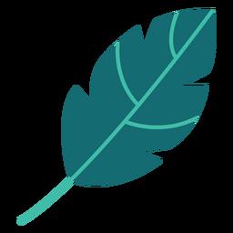 Arbustos de árvore de planta de folha plana