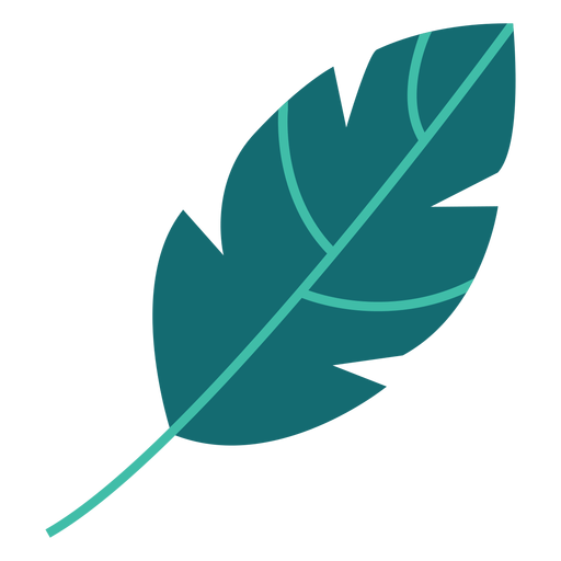 Leaf plant tree bushes flat Transparent PNG