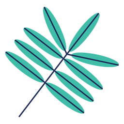 Laubbaum Pflanze Büsche flach
