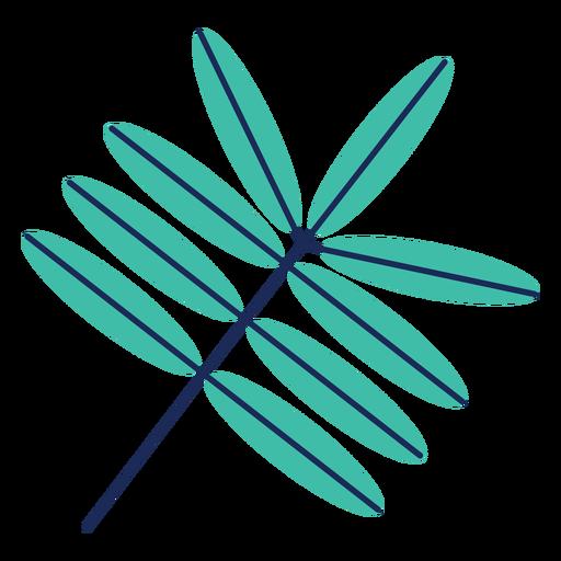 Hoja árbol planta arbustos plana Transparent PNG