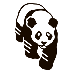 Panda Spot Mündungsohr Fett Gekritzel