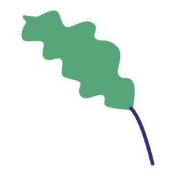 Pflanzenblatt Büsche Baum flach