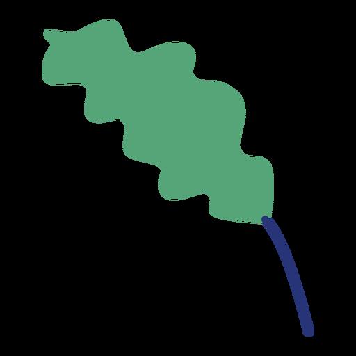 Planta hoja arbustos arbol plano Transparent PNG