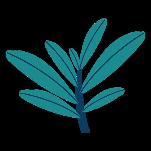 Planta arbustos arboles hoja plana Transparent PNG