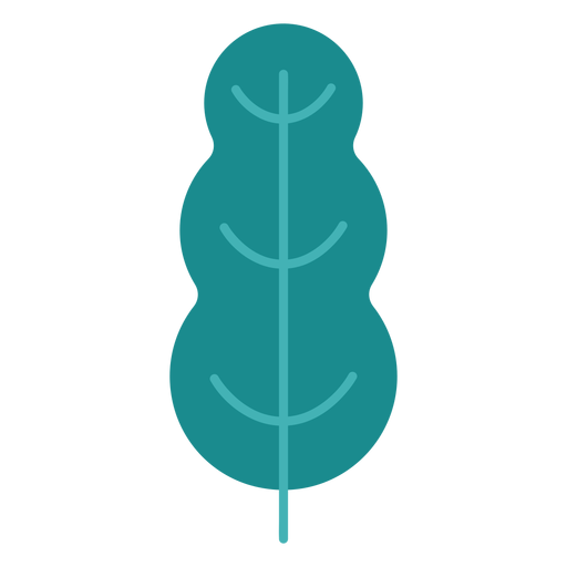 Plant tree leaf bushes flat Transparent PNG