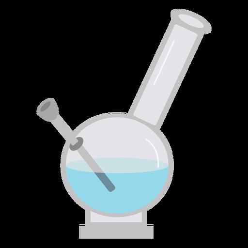 Retort liquid experiment flat Transparent PNG
