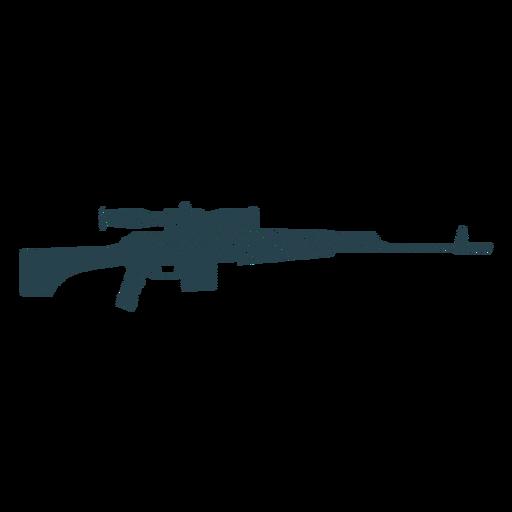 Carregador de rifle barril arma silhueta listrada Transparent PNG