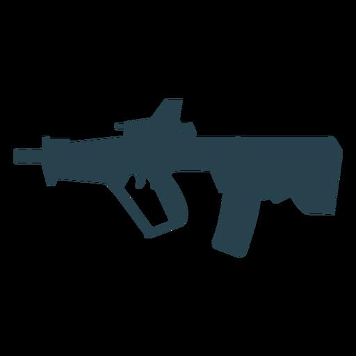 Carregador de metralhadora arma silhueta de barril de bunda Transparent PNG