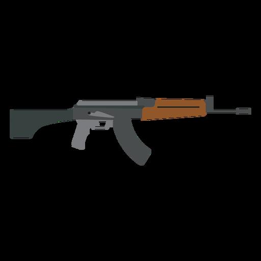 Arma ametralladora barril plano Transparent PNG