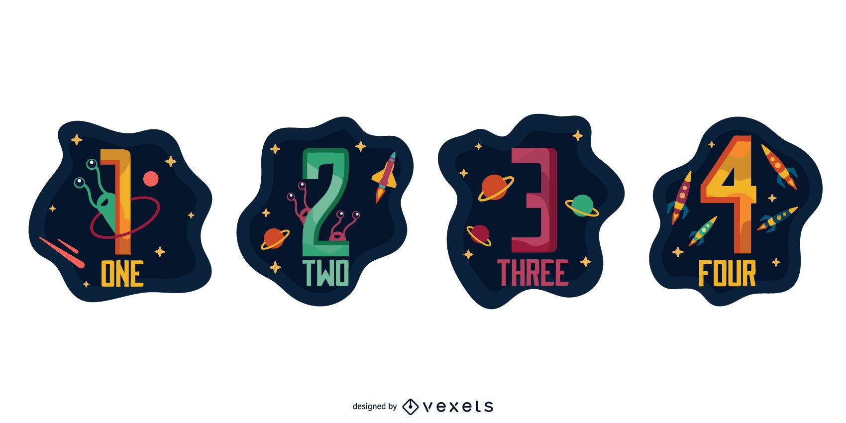 Conjunto numérico espacial