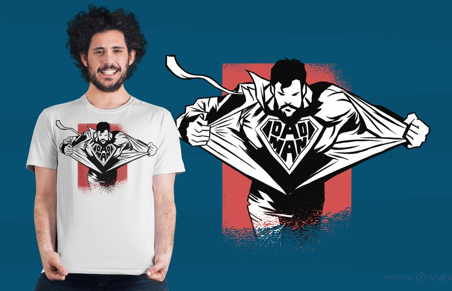 Dadman T-shirt Design