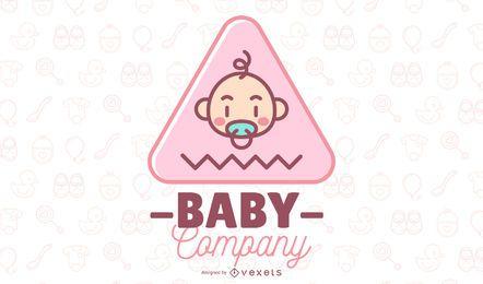 Logotipo de la empresa bebé