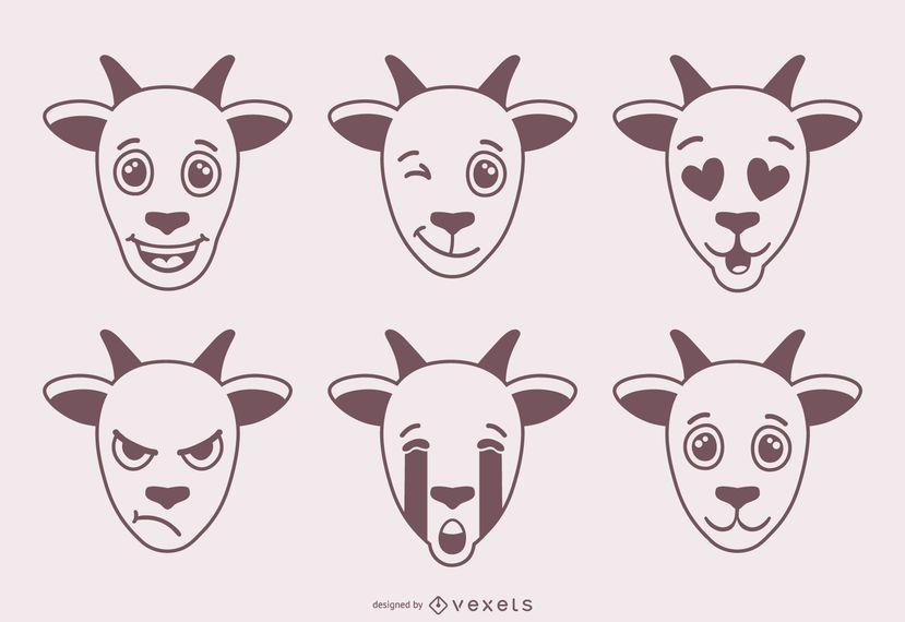 Cabra Emojis Design
