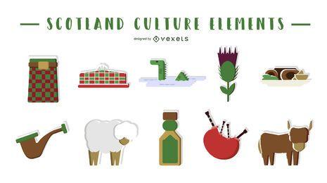 Elementos culturais da Escócia