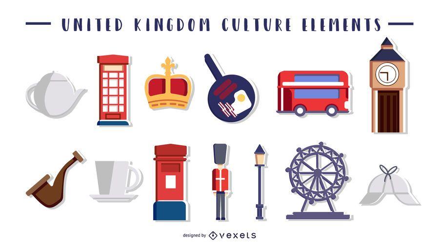 Elementos de la cultura del Reino Unido
