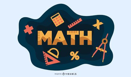 Math Elements Vector Design