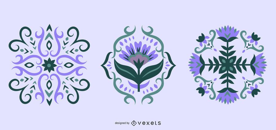 Floral Scandinavian Illustration Collection