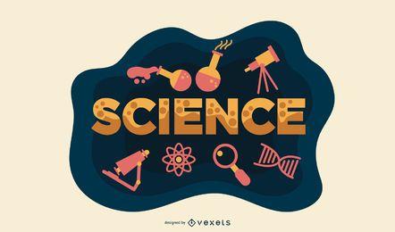 Vetor de sala de aula de ciências