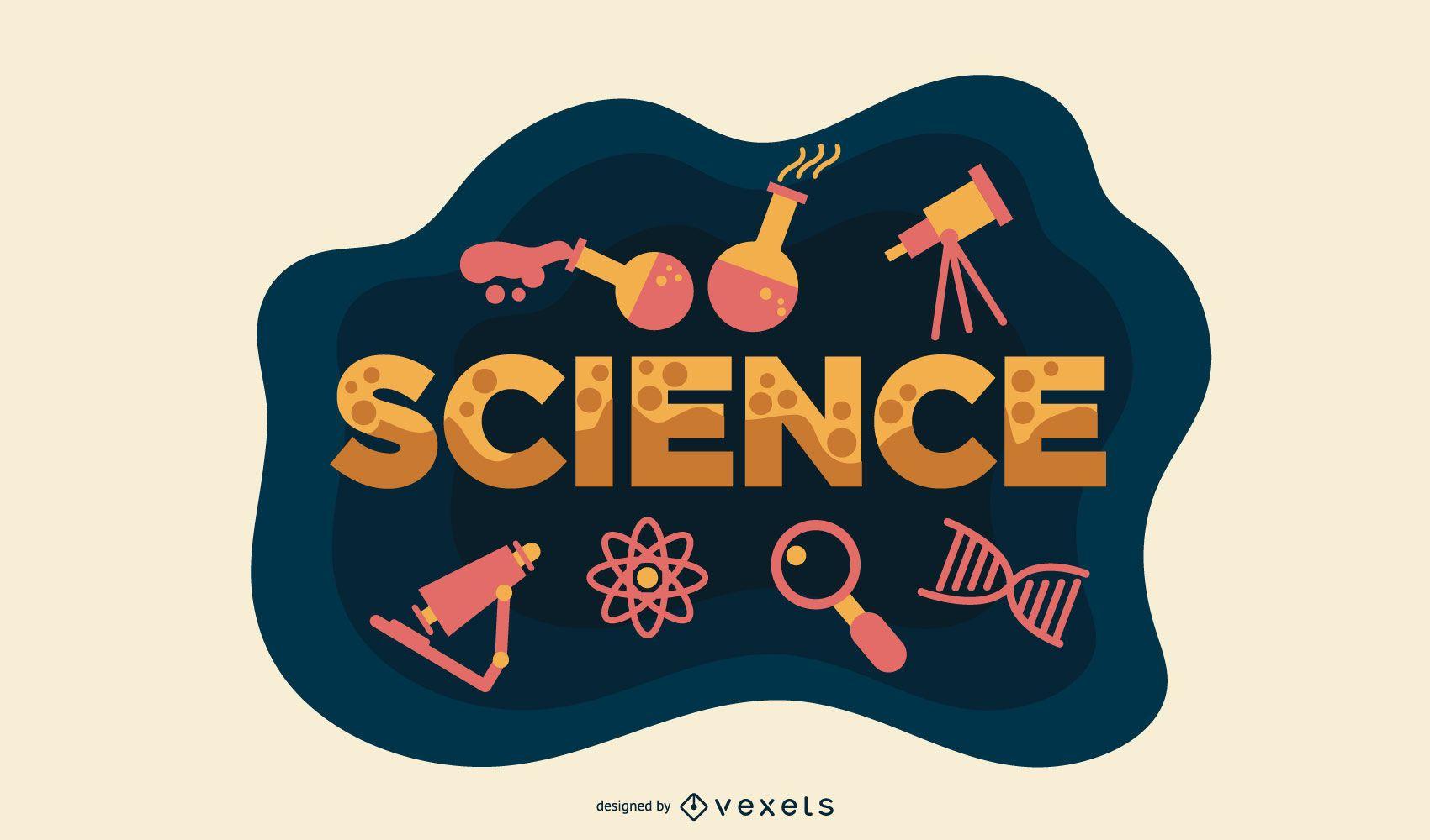 Vector de aula de ciencia
