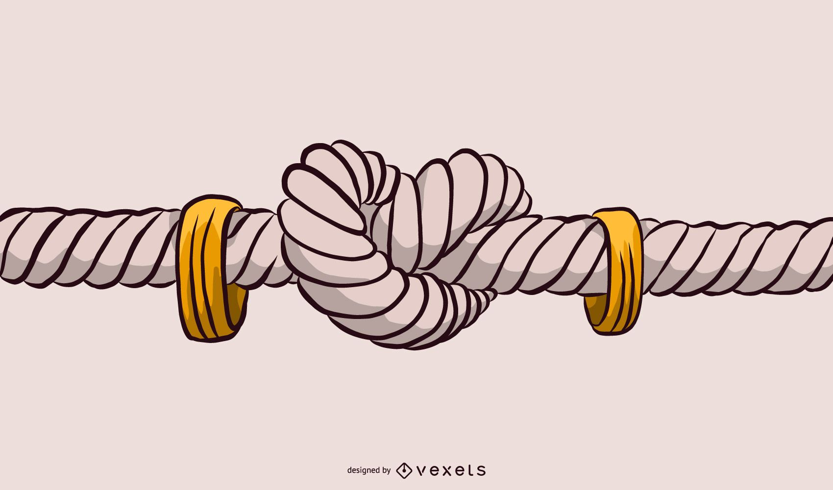 Rope Knot Illustration